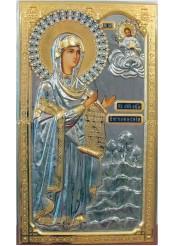 Боголюбская икона Божией Матери 41,5 х 72,5 см