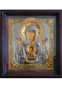 Храмовая икона Божией Матери «Знамение» большого размера 63 х 69,5 см
