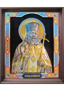 Большая храмовая икона святителя Луки Крымского 61 х 73 см