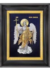 Икона Ангел-Хранитель в деревянной рамке 25 х 31,5 см