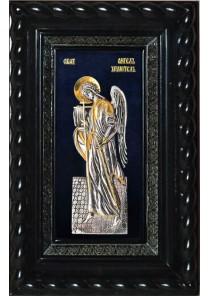 Икона Ангела-Хранителя под стеклом 19 х 30 см