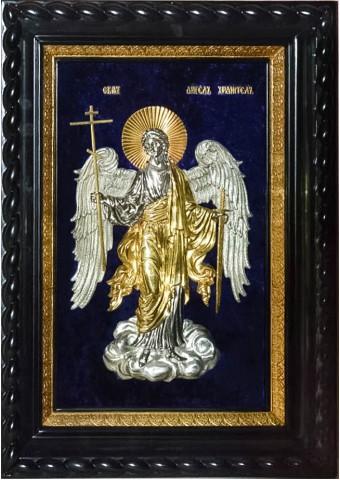 Икона Ангел-Хранитель под стеклом 32 х 39 см