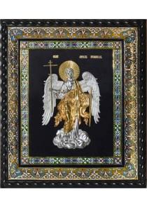 Икона Ангела-Хранителя под стеклом 38 х 43 см