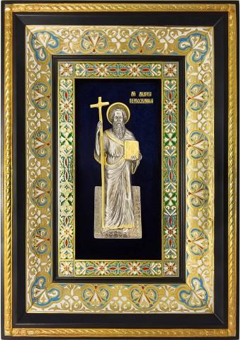 Икона святого апостола Андрея Первозванного 29 х 40,5 см