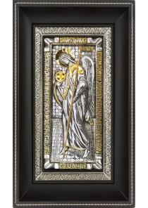 Икона Архангела Гавриила на металлической подложке 17 х 28 см