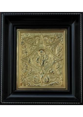 Икона Божией Матери «Неопалимая Купина» 16,5 х 19 см