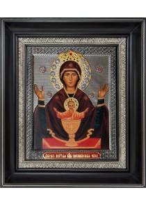 Икона Божией Матери «Неупиваемая Чаша» 26,5 х 31 см
