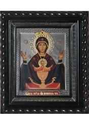 Икона Божией Матери «Неупиваемая Чаша» под стеклом 28 х 32 см