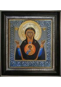Икона Божией Матери «Знамение» 38 х 39,5 см