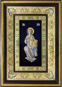 Икона Господь Вседержитель на престоле 29 х 40,5 см