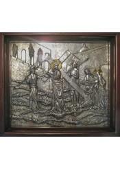 Икона «Несение Креста» 58 х 66 см