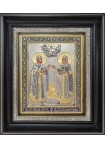 Икона святых Петра и Февронии Муромских 26,5 х 31 см