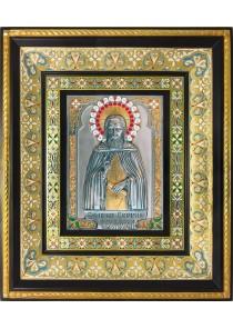 Икона преподобного Сергия Радонежского 35 х 41 см