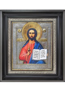 Икона Спасителя Иисуса Христа 36 х 40,5 см