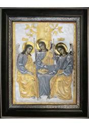 Икона «Святая Троица» в деревянной рамке 34 х 42 см