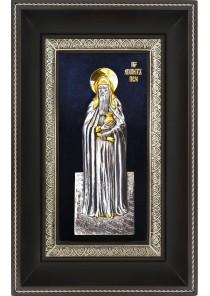 Икона святого Агапита Печерского 18,5 х 29 см