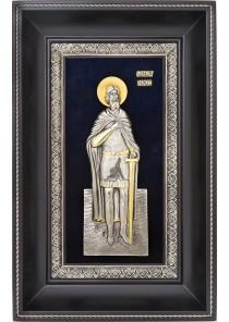 Икона святого Александра Невского 18,5 х 29 см