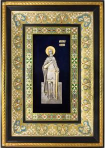 Икона святого Александра Невского 29 х 40,5 см