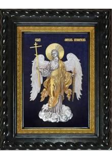 Икона Ангел-Хранитель под стеклом 26 х 32 см