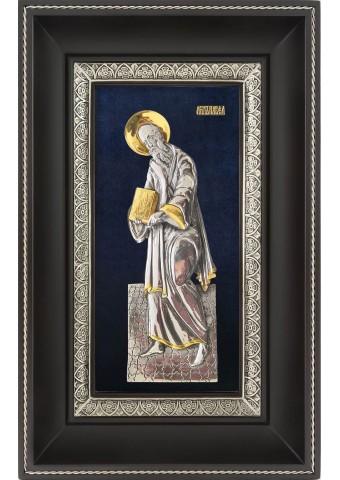 Икона Святой апостол Павел в деревянной рамке 18,5 х 29 см