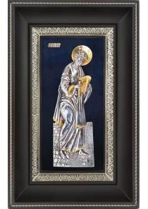 Икона Святой апостол Петр в деревянной рамке 18,5 х 29 см
