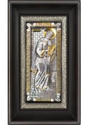 Икона святого апостола Петра на металлической подложке 17 х 28 см