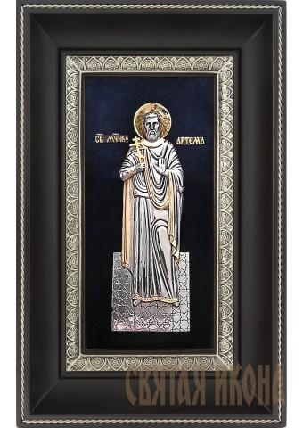 Икона святого мученика Артема Кизического 18,5 х 29 см