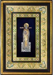 Ростовая икона святого Евгения Херсонесского 29 х 40,5 см