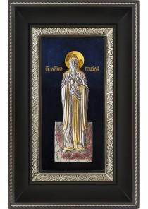 Икона святого Геннадия Костромского 18,5 х 29 см