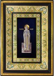 Ростовая икона святого Геннадия Костромского 29 х 40,5 см