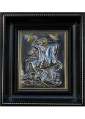 Икона святого Георгия Победоносца 16,5 х 19 см