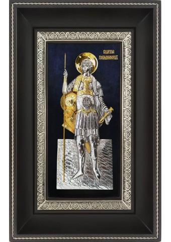 Икона святого Георгия Победоносца 18,5 х 29 см