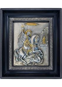 Икона святого великомученика Георгия Победоносца 24 х 28 см