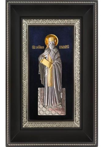 Икона святого Григория Константинопольского 18,5 х 29 см