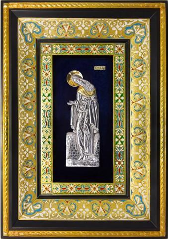Ростовая икона святого Иоанна Предтечи 29 х 40,5 см