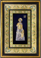 Ростовая икона святого мученика Иоанна Воина 29 х 40,5 см