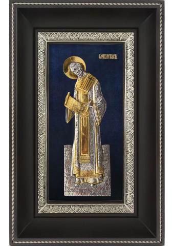 Икона святого Иоанна Златоуста 18,5 х 29 см