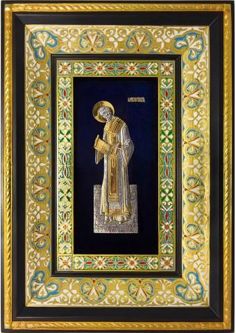 Ростовая икона святого Иоанна Златоуста 29 х 40,5 см