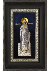 Икона святого благоверного князя Бориса 18,5 х 29 см