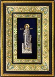 Ростовая икона святого благоверного князя Бориса 29 х 40,5 см