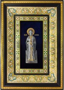 Ростовая икона святого благоверного князя Игоря Черниговского 29 х 40,5 см