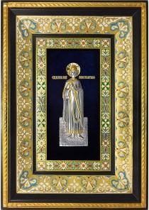Ростовая икона святого благоверного князя Константина Ярославского 29 х 40,5 см
