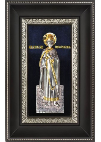 Икона святого благоверного князя Константина Ярославского 18,5 х 29 см