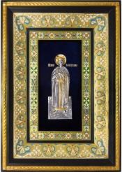 Ростовая икона святого мученика благоверного князя Вячеслава Чешского 29 х 40,5 см