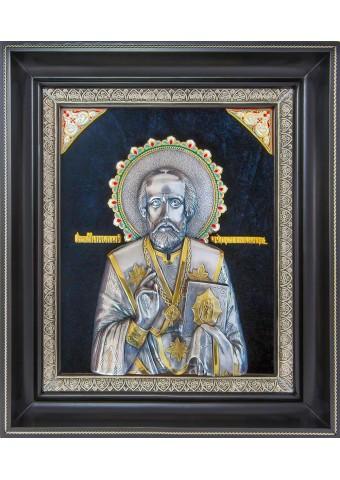 Икона святого Николая Чудотворца (Угодника) 34 х 40 см