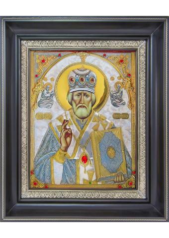 Икона святого Николая Чудотворца (Угодника) 34 х 42 см
