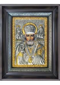 Икона святого Николая Угодника, Чудотворца 25 х 31,5 см