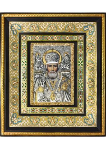 Икона святого Николая Угодника, Чудотворца 35 х 41 см