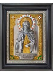 Икона святого Сергия Радонежского 26 х 30 см