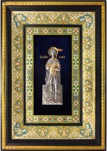 Ростовая икона святого Валерия Севастийского 29 х 40,5 см